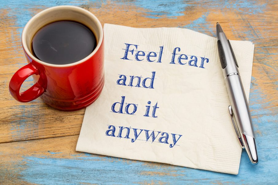 coffee cup, how to be fearless