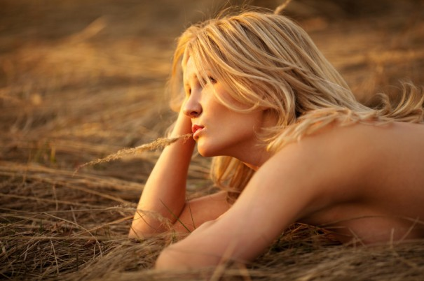 dreaming pretty woman