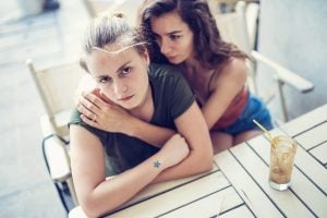 angry girl, how to let go of a relationship