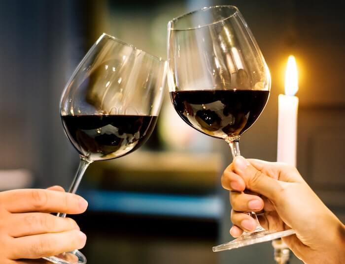 two wine glasses toast conversation topics