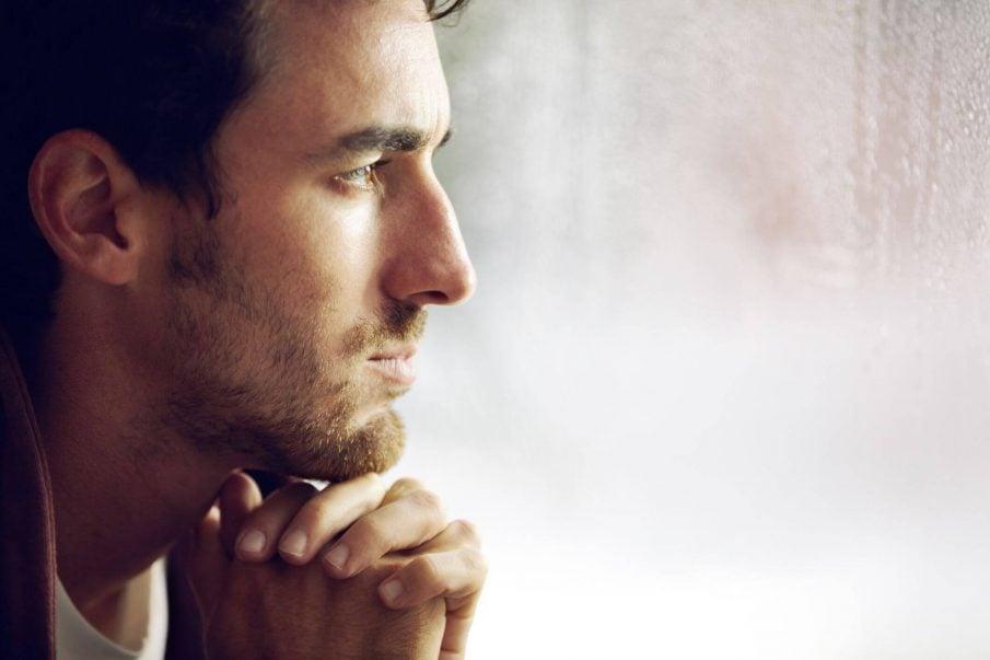 man thinking, positive thinking is basically wishful thinking