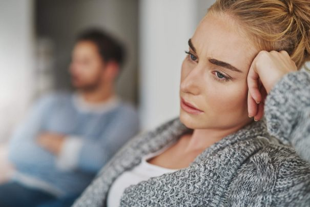 unhappy couple, relationship problems