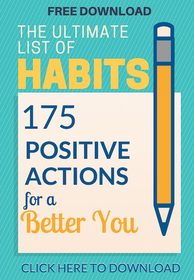 free download image of list of 175 good habits