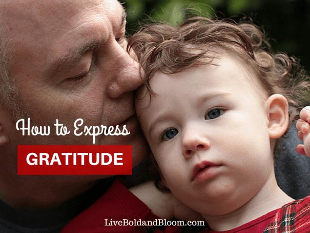 how to practice gratitude