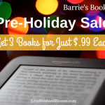 Pre-Holiday Sale: Get 3 Books For $.99 Each