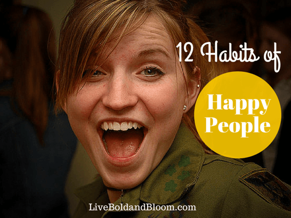 habits of happy people