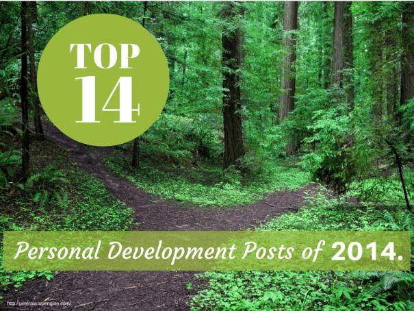 2014 personal development top posts