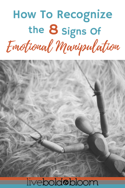 8 Emotional Manipulation Tactics (How To Deal With A Manipulator)