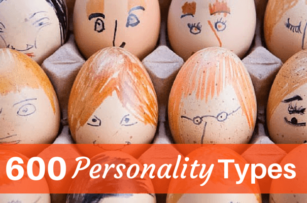 List of Personality Types