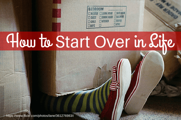 How to start over in life - The house in which life starts over ...