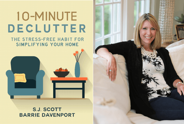 declutter book launch