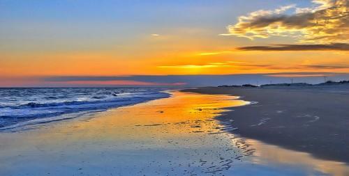 smooth-sunset-on-ocracoke-outer-banks-dan-carmichael