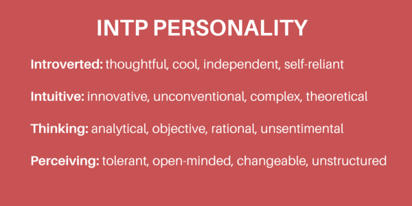 INTP myers briggs