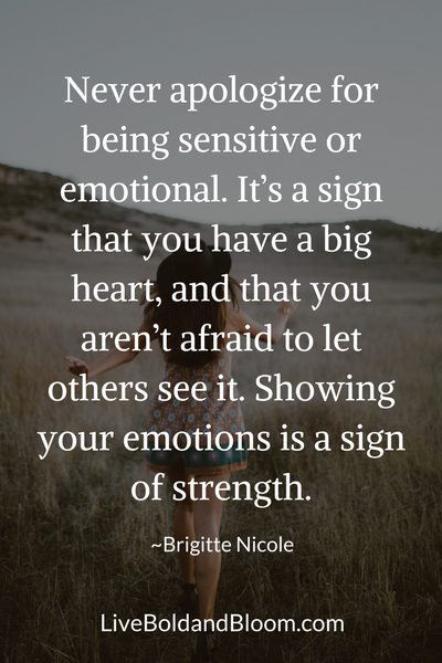 Woman walking, highly sensitive people