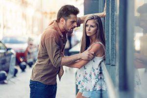 unhappy couple, controlling men