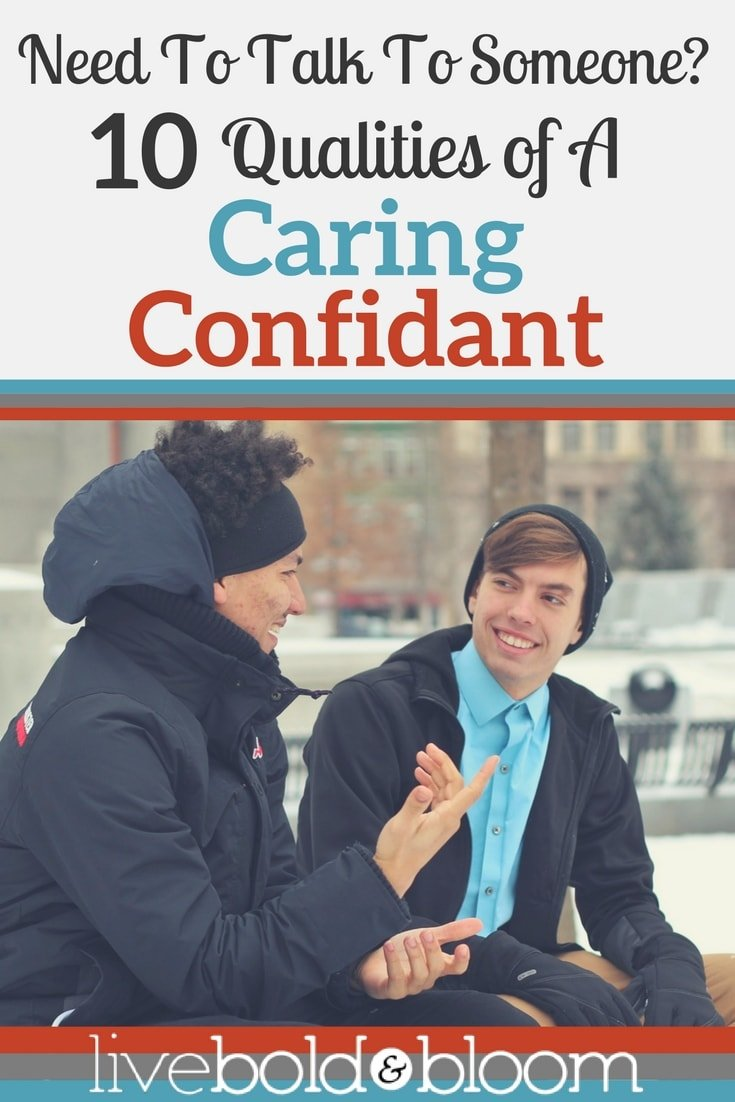 I need someone to talk to but it needs to be a caring person. In this post I'll share 10 qualities of the right kind of help.