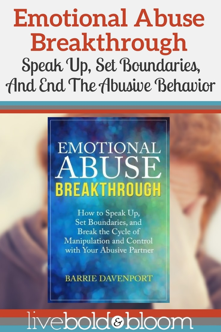 Commit today to put an end to emotional abuse.