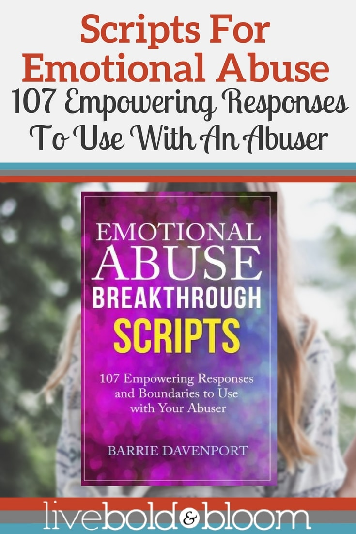 Rebuild your confidence and manage the emotional abuse.