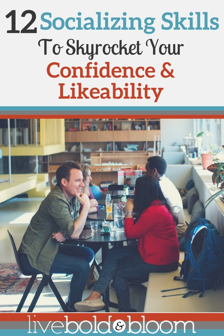 Do you struggle in social settings? In this post discover 12 socializing skills to improve your confidence.