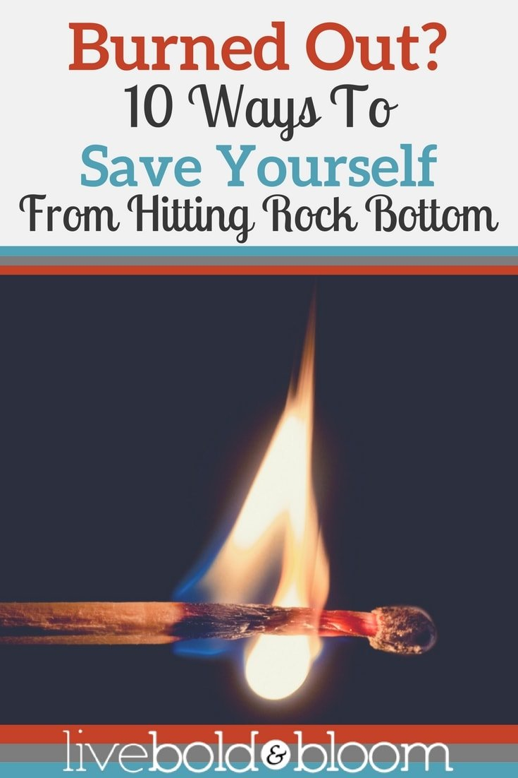 Feeling burnt out? In this post I'll share 10 ways to stop being burned out.