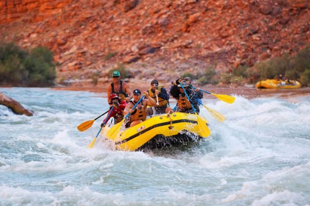 Rafting in the Grand Canyon