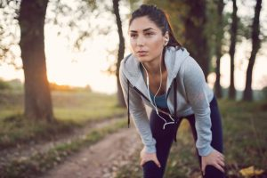 woman running, how to develop good habits