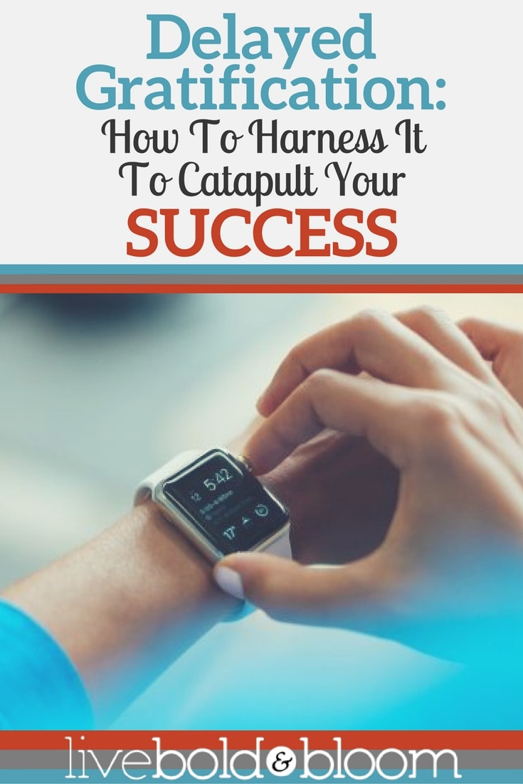 Most of us want instant satisfaction and immediate rewards. But the most successful people know how to use delayed gratification to reach their goals.