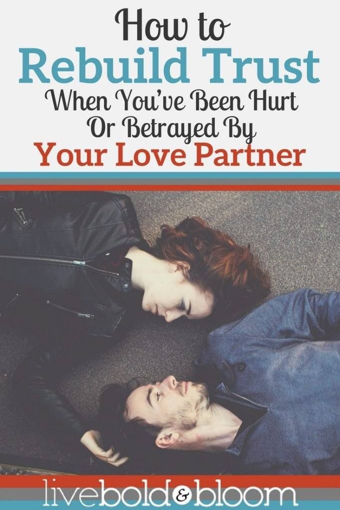 If you've been wounded or betrayed by your partner, you may wonder how to rebuild trust and find your way back to the loving connection you once had.