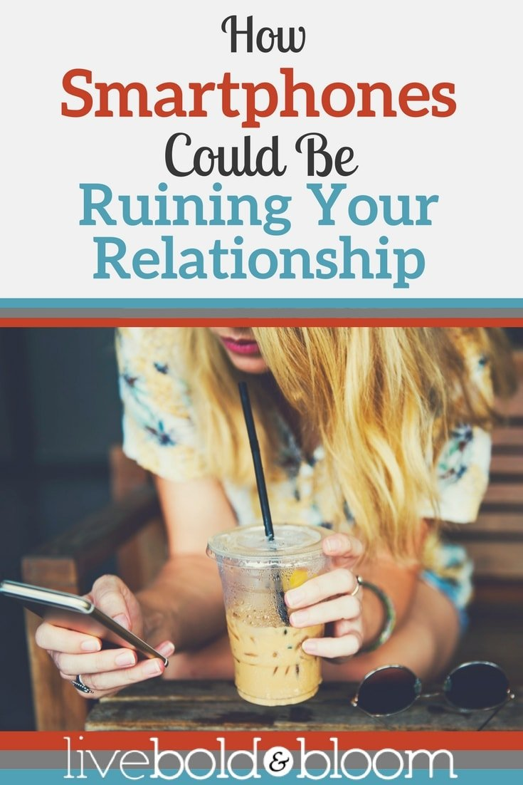 Smartphones are a distraction and can be ruining your relationship. Relationships need more communication not more distractions.