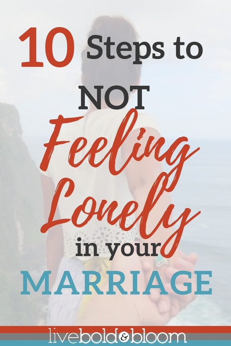 When we find our soulmate, we believe we will be close forever. We never expect feeling lonely in marriage, but it happens all too often.