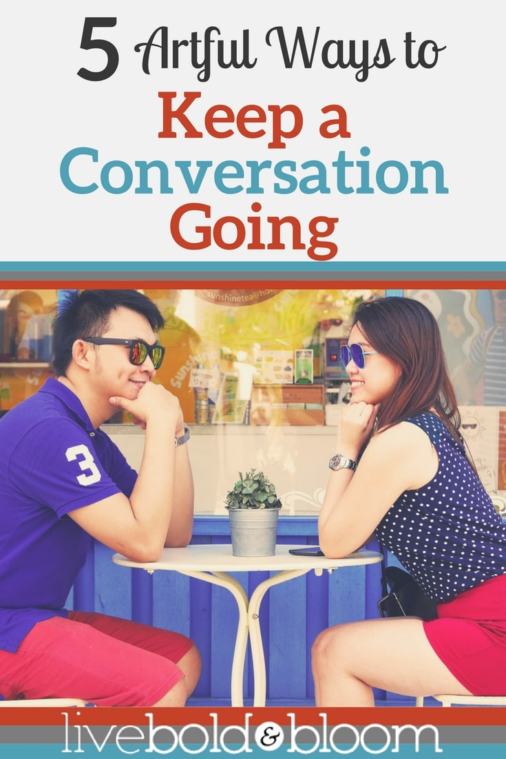 In social settings, your conversation can stall and feel awkward. Learn how to keep a conversation going with confidence.