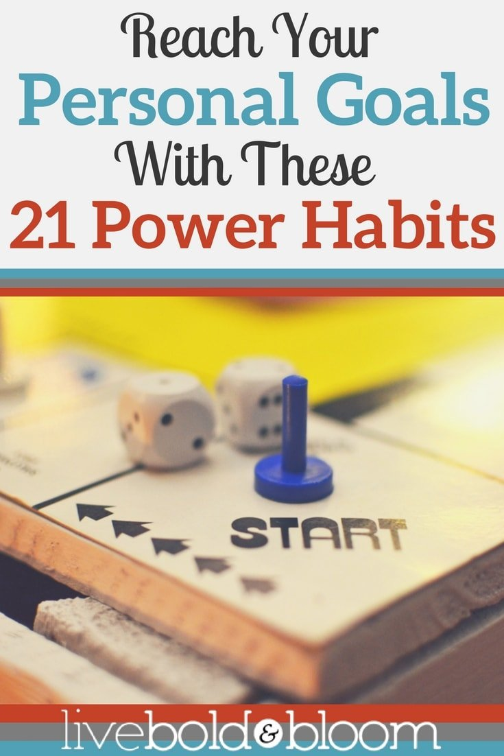Are you ready to set your personal goals for 2017? Here are 21 good habits for accomplishing your goals.