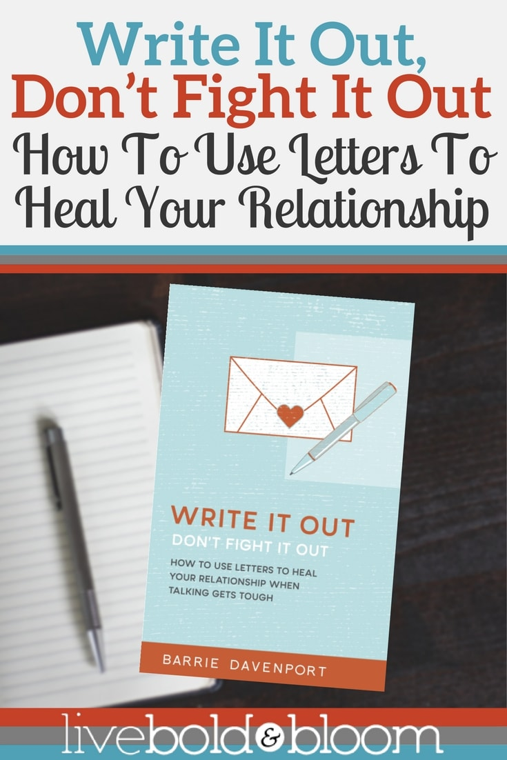 Does communicating with your partner sometimes feel impossible? Learn the power of writing letters to heal your relationship.