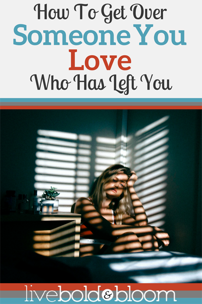 Getting over someone is difficult. Learn how to get over someone you love with this healing actions and move on with your life.