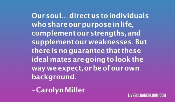 carolyn miller quote soulmate quotes