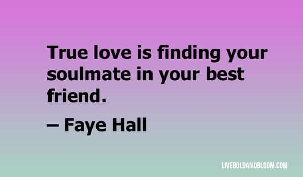 faye hall quote soulmate quotes