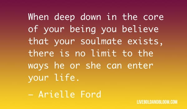 arielle ford quote soulmate quotes