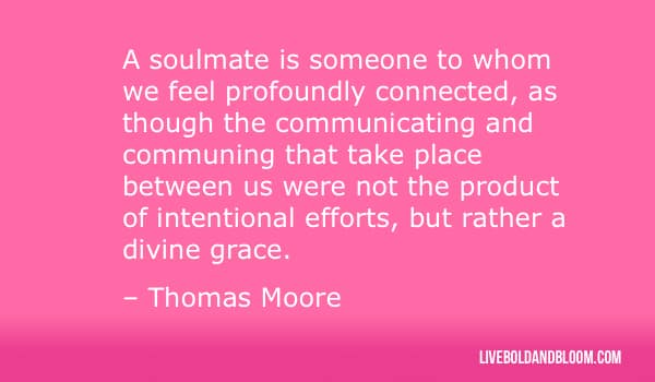 thomas moore quote Soulmate Quotes