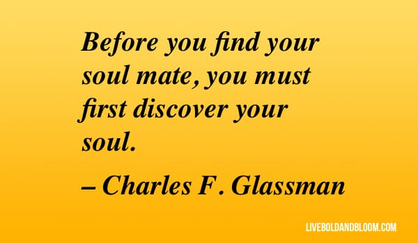 charles f glassman quote Soulmate Quotes