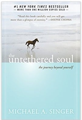 book cover The untethered soul