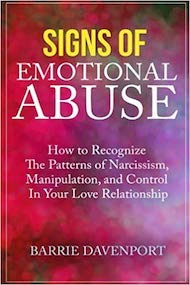 book cover for signs of emotional abuse