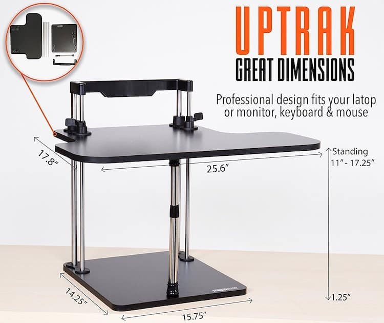Uptrak standing desk