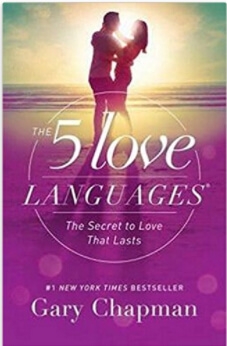 Love Languages book cover books for couples