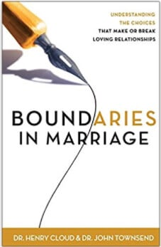 Boundaries in marriage books for couples