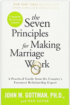 Seven Principles Marriage cover books for couples