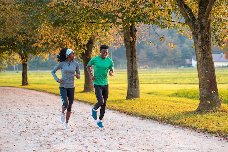 couple jogging relationship advice
