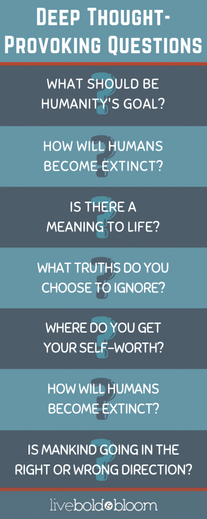 infographic thought-provoking questions