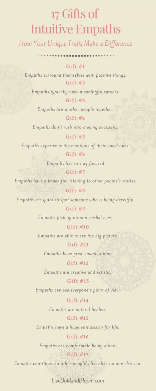 Intuitive Empath (17 Signs That You Are Unique And Gifted)