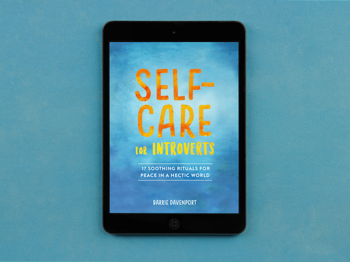 self-care for introverts cover-ipad