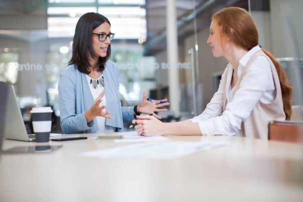 women talking, type b personality